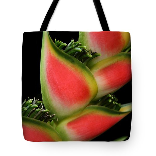 Heliconia Wagneriana - Giant Lobster Claw Heliconiaceae - Maui Hawaii Tote Bag by Sharon Mau