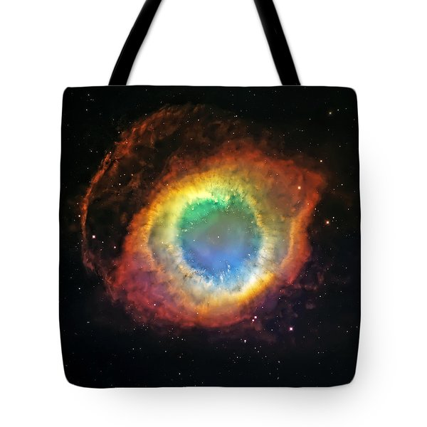 Helix Nebula 2 Tote Bag by Jennifer Rondinelli Reilly - Fine Art Photography