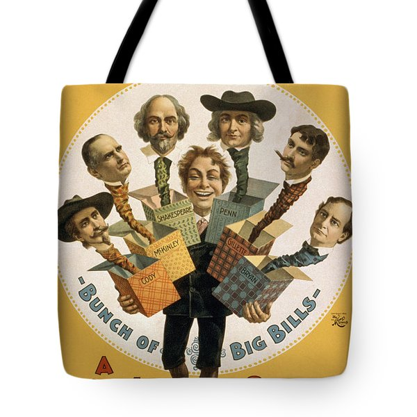 Hello Bill Tote Bag by Aged Pixel