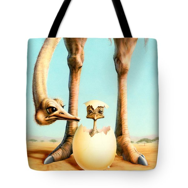 Hello Mum Tote Bag by Andrew Farley