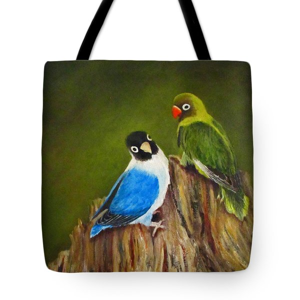 Hello Tote Bag by Roseann Gilmore