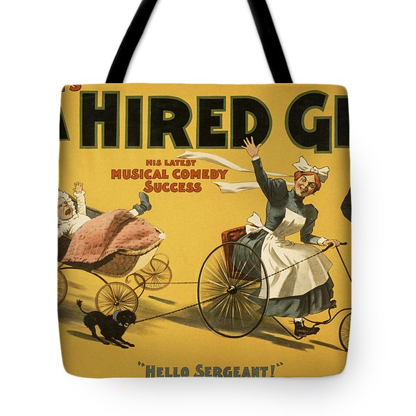 Hello Sergeant Tote Bag by Aged Pixel