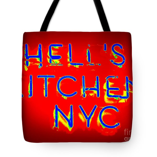Hell's Kitchen Nyc Tote Bag by Ed Weidman