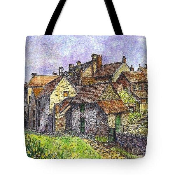 Helmsley Village -  In Yorkshire England  Tote Bag by Carol Wisniewski
