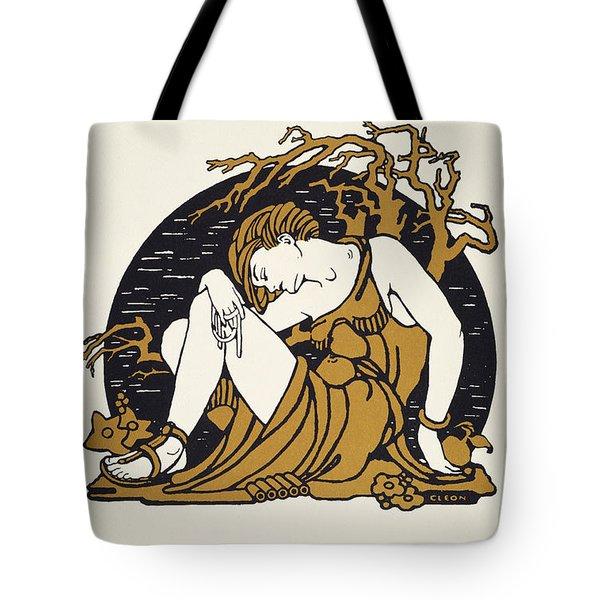 Hemingway: Sun Also Rises Tote Bag by Granger