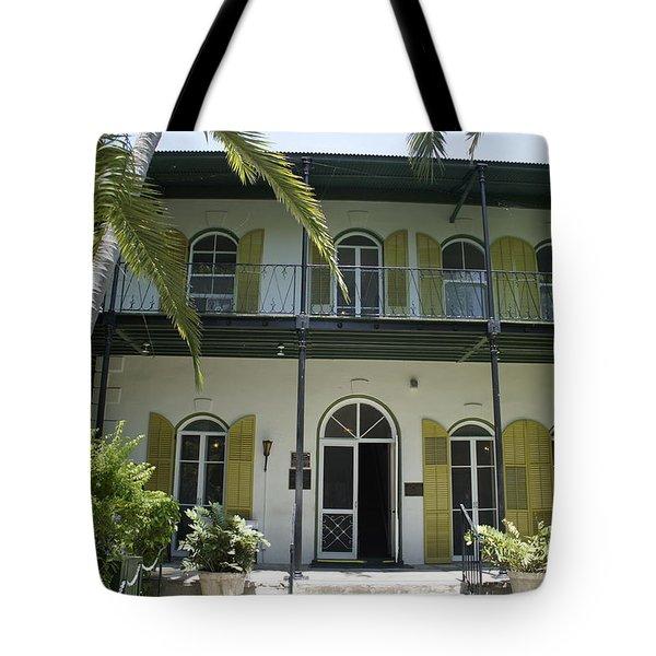 Hemingway's Hideaway Tote Bag