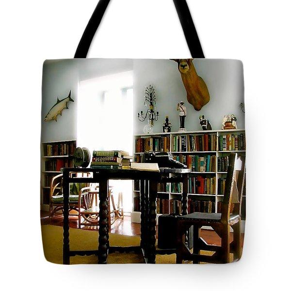 Hemingway's Studio II  Ernest Hemingway Tote Bag