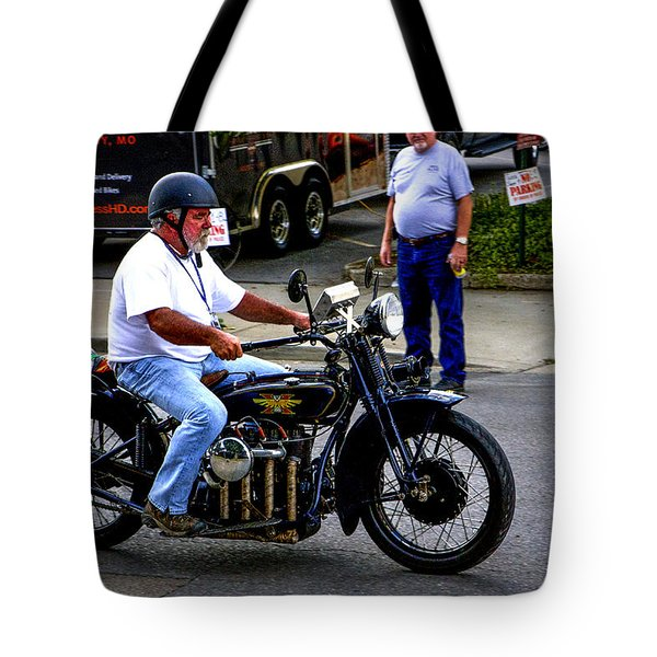 Henderson Four-banger Tote Bag