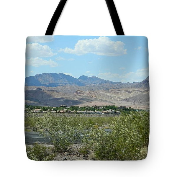 Tote Bag featuring the photograph Henderson Nevada Desert by Emmy Marie Vickers