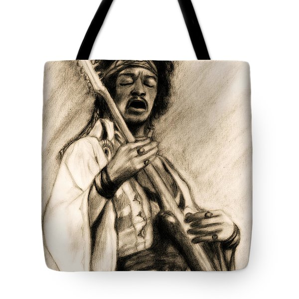 Hendrix-antique Tint Version Tote Bag