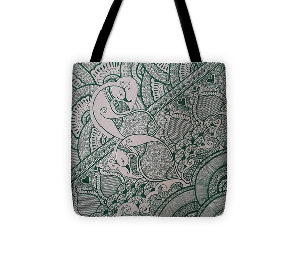 Henna Tote Bag by M Ande