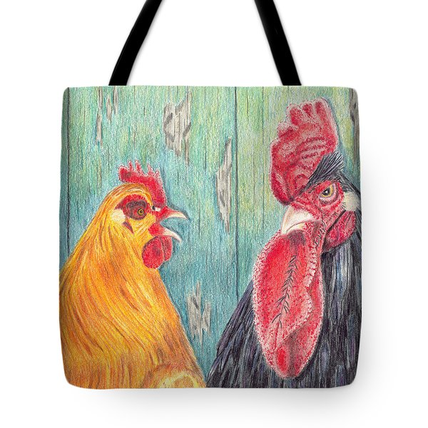 Henpecked Tote Bag