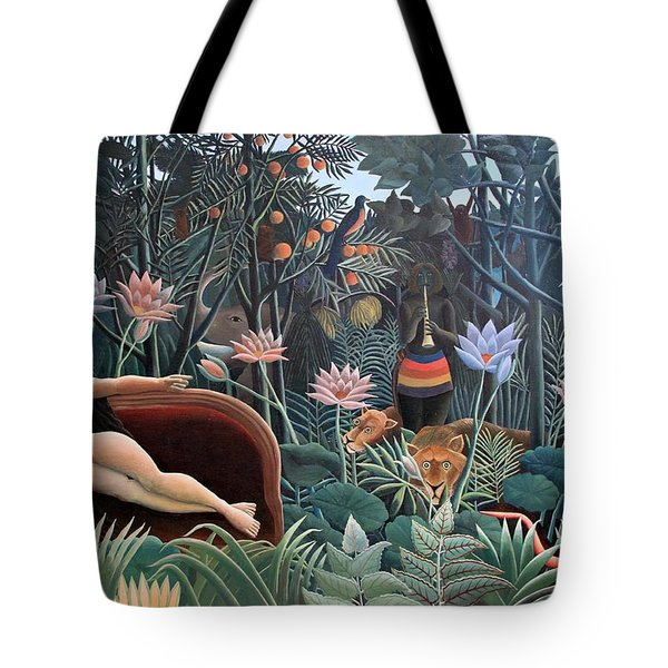Henri Rousseau The Dream 1910 Tote Bag by Movie Poster Prints