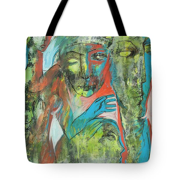 Her Avatars Tote Bag by Floria Varnoos