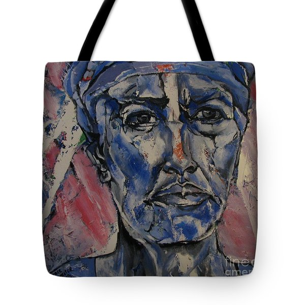 Her Convictions - Portriat Tote Bag