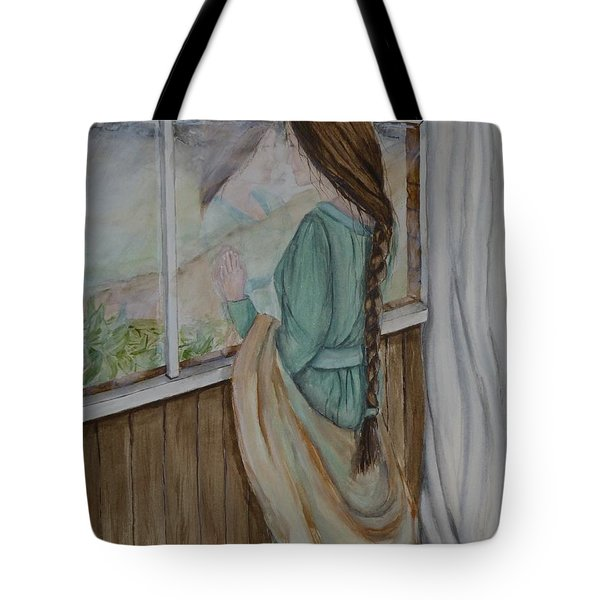 Her Dreams Are Out There Somewhere Tote Bag by Kelly Mills