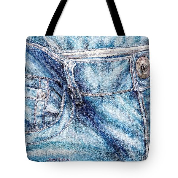 Her Favorite Pair Of Jeans Tote Bag