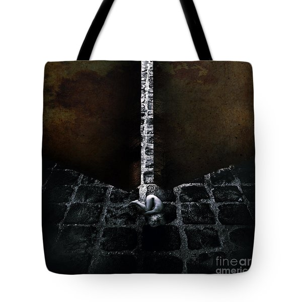 Her Fears Tote Bag by Stelios Kleanthous