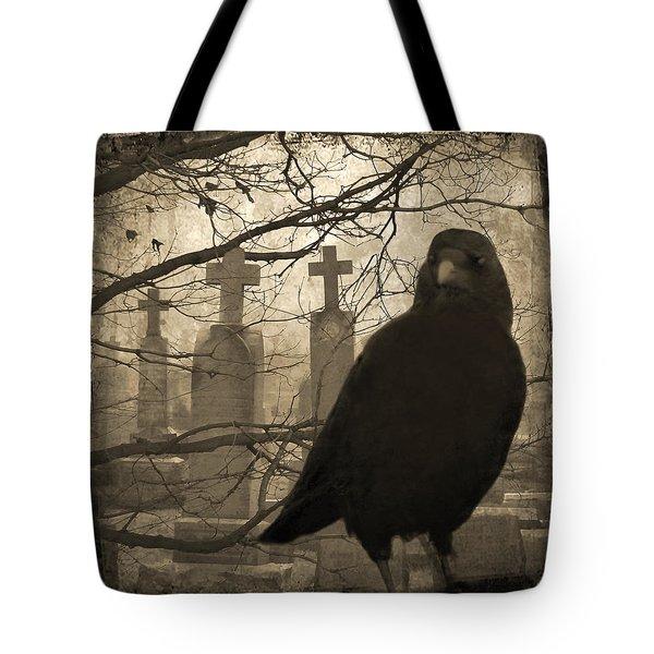 Her Graveyard Tote Bag