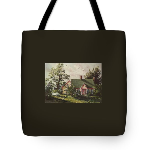 Her House Tote Bag