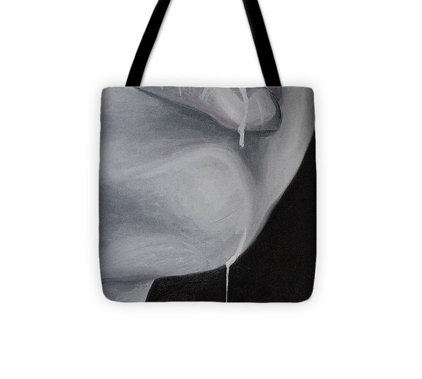 Her Lips Tote Bag by Alexander Almark