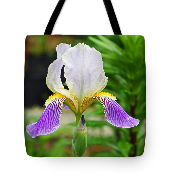 Her Majesty Iris  Tote Bag