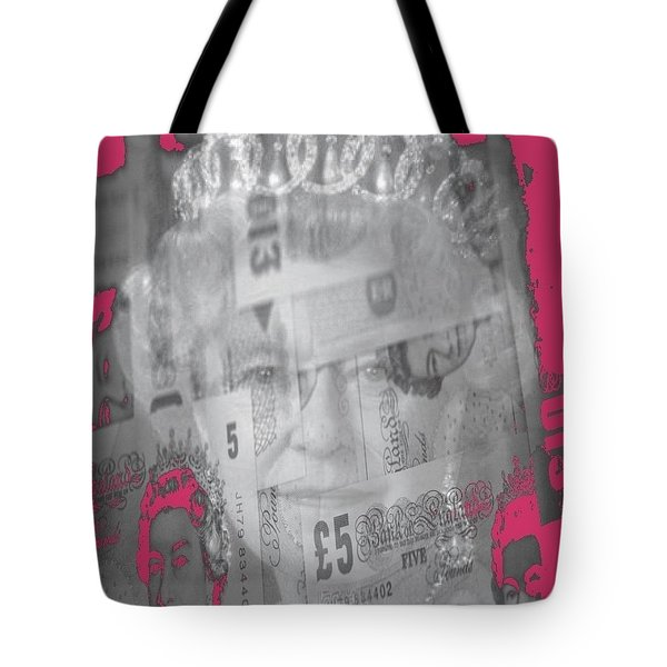 Her Majesty Queen Elisabeth Tote Bag by PainterArtist FIN