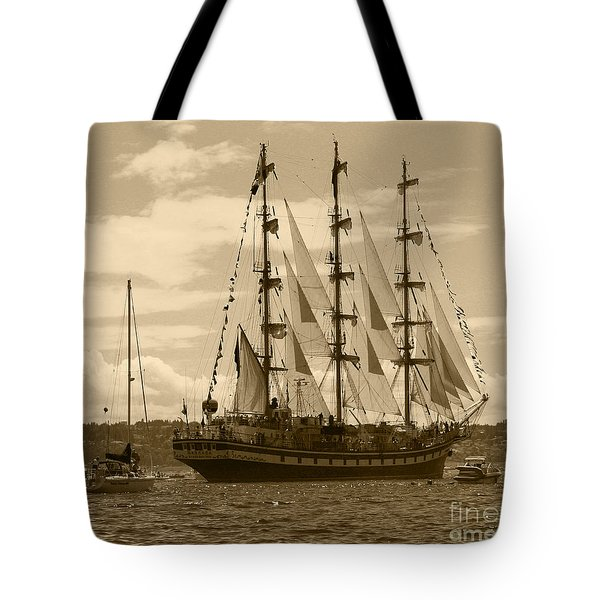 Her Russian Backside Pallada Tote Bag by Kym Backland