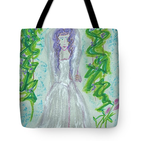 Hera Juno Tote Bag by First Star Art