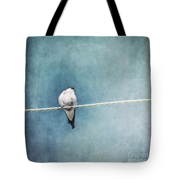 Herald Of Spring Tote Bag by Priska Wettstein