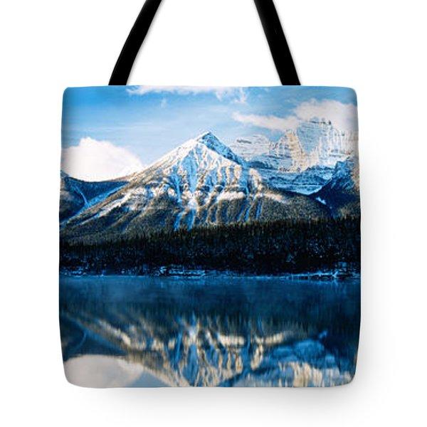 Herbert Lake, Banff National Park Tote Bag