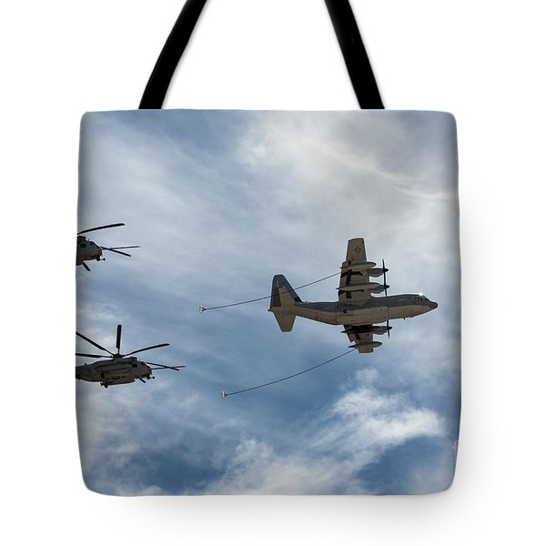 Hercules And Sea Stallions Tote Bag