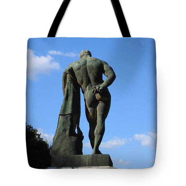 Tote Bag featuring the photograph Hercules  by HEVi FineArt
