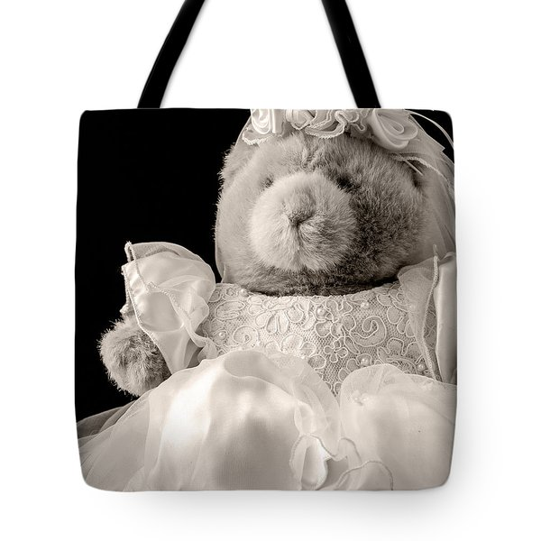 Here Comes The Bride Tote Bag by Edward Fielding