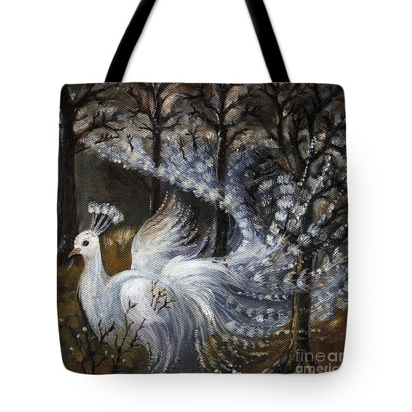 Here Comes The Mist Tote Bag by Angel  Tarantella