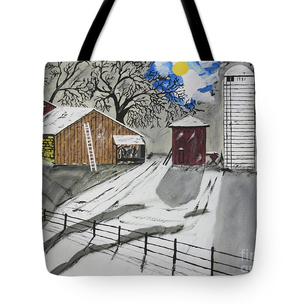 Tote Bag featuring the painting Here Comes The Sun by Jeffrey Koss