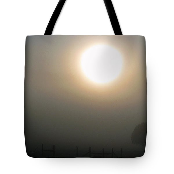 Tote Bag featuring the photograph Here Comes The Sun  by Juls Adams