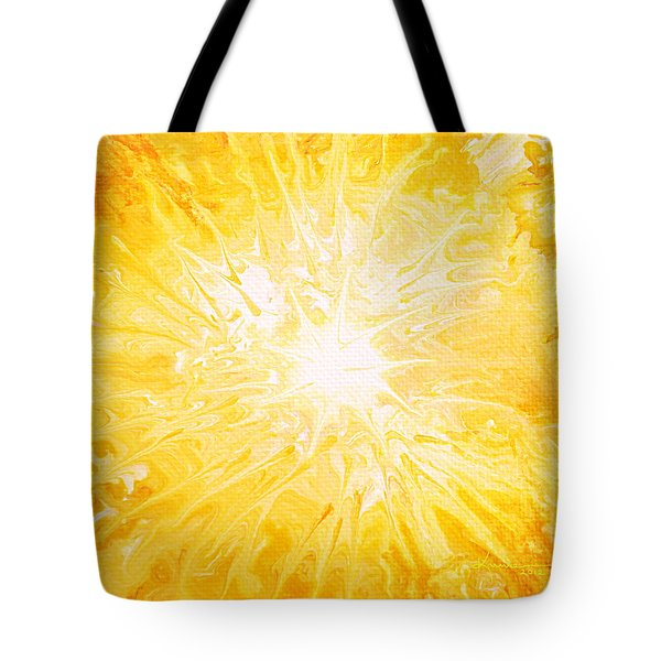 Here Comes The Sun Tote Bag by Kume Bryant