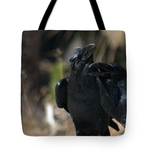 Here He Is Tote Bag