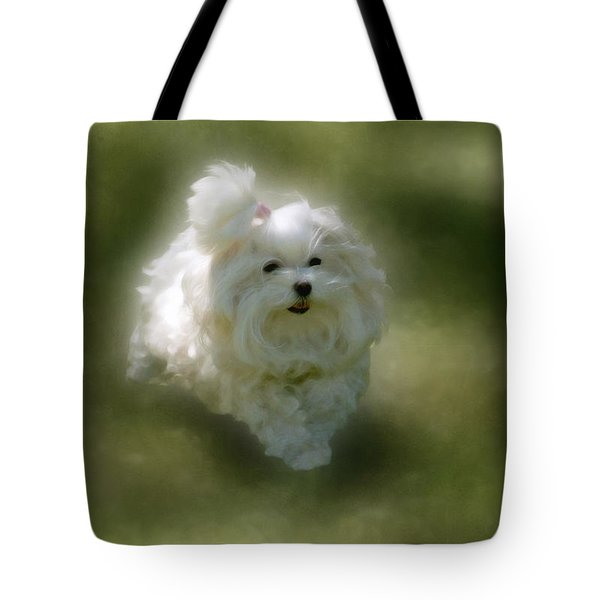 Here She Comes Tote Bag by Lois Bryan