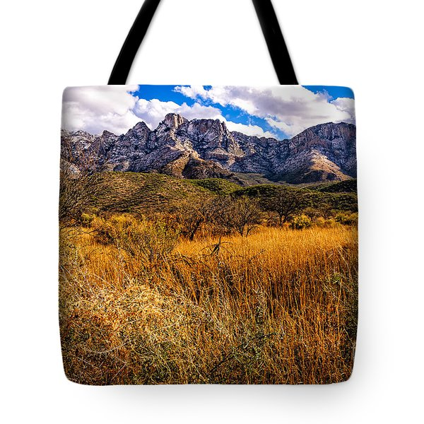 Tote Bag featuring the photograph Here To There by Mark Myhaver