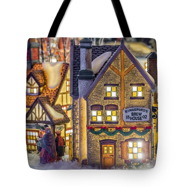 Here We Come A Caroling Tote Bag by Caitlyn  Grasso