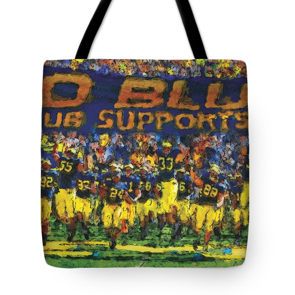 Here We Come Tote Bag by John Farr