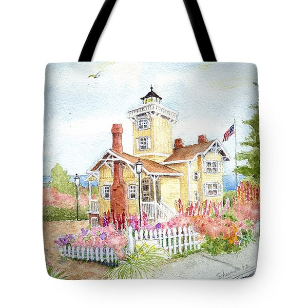Hereford Inlet Lighthouse Tote Bag