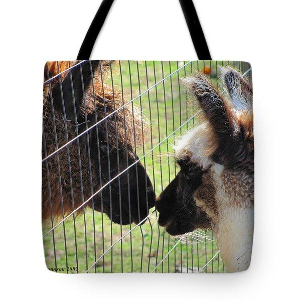 Heres A Llama Theres A Llama Tote Bag