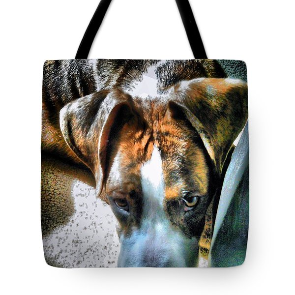 Tote Bag featuring the photograph Here's Lookin Atchya by Robert McCubbin