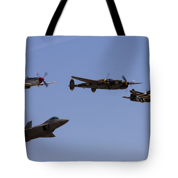 Heritage Flight Of Four Tote Bag