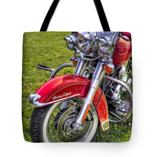 Heritage Softail Tote Bag by Tim Stanley