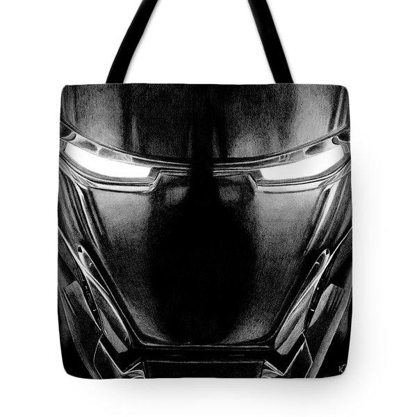 Hero In Shining Iron Tote Bag by Kayleigh Semeniuk
