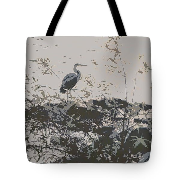 Silent Lake Tote Bag
